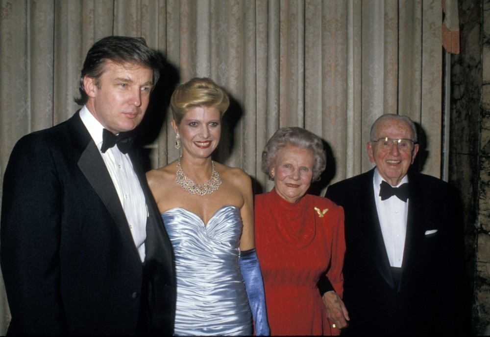 trump-and-his-first-wife-ivana-with-ruth-and-norman-vincent-peale-at-rev-peales-90th-birthday-party-in-new-york-on-may-26-1988-trump-hosted-the-event-at-the-waldorf-astoria-ron-galella